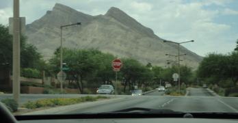 Driving around the Neighborhoods of Las Vegas